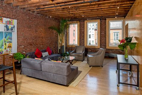 exposed brick abounds in this floor soho loft renting for 10k month 6sqft