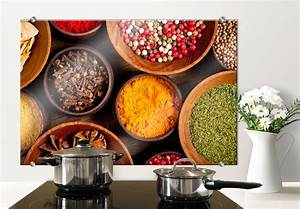 Leinwandbilder Für Küche : spritzschutz gew rze perfekt f r die k che wall ~ Indierocktalk.com Haus und Dekorationen