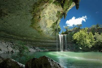 Nature Unique Fantastic Landscape Waterfall Natural Cool