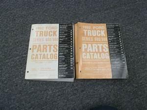 1992 Ford B600 B700 F600 F700 Ft600 Ft700 Truck Parts