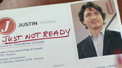 just not ready trudeau ad may be getting to voters poll