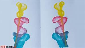Thread Painting,how to make Thread Painting,Craft