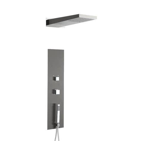 pannello doccia multifunzione pannello doccia termostatico multifunzione ad incasso
