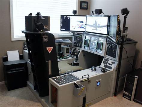 flight sim desk flat out best flight sim cockpit by dudleyaz