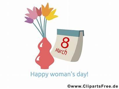 Frauentag Internationaler Karte Bild Clipart Internationale Maerz
