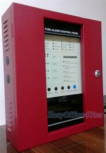 4 Zones Conventional Fire Alarm Control Panel Fire Alarm