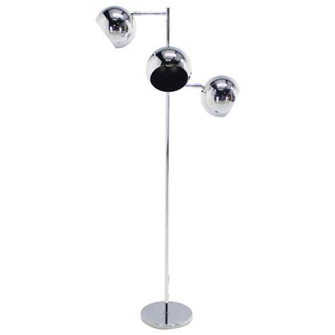 three light floor l koch lowy three globe shades chrome floor l adjustable