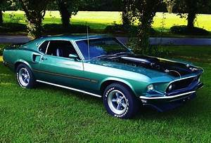 1969 Ford Mustang - MACH 1- TRUE M-CODE SILVER JADE CLASSIC- Stock # 69TN for sale near ...