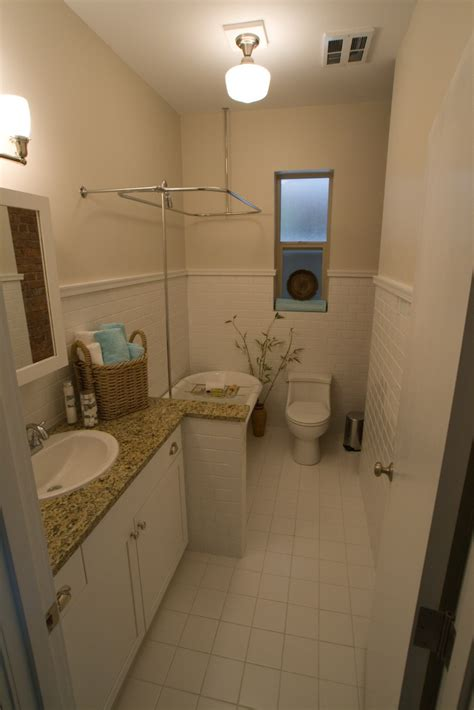 ideas   vintage bathroom  subway tile