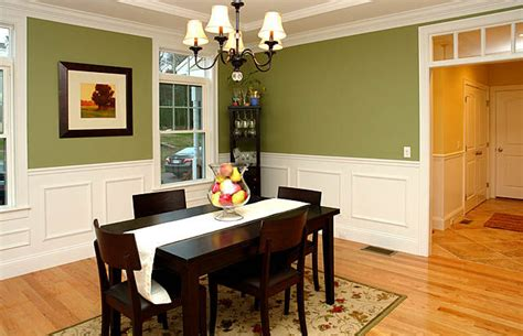 paint ideas for dining room with wainscoting home design