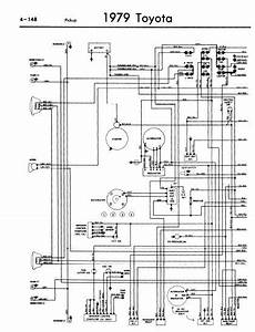 Toyota Pickup 1979 Wiring Diagrams