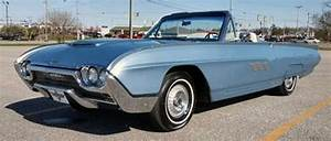 1963 Ford Thunderbird Convertible Numbers Matching