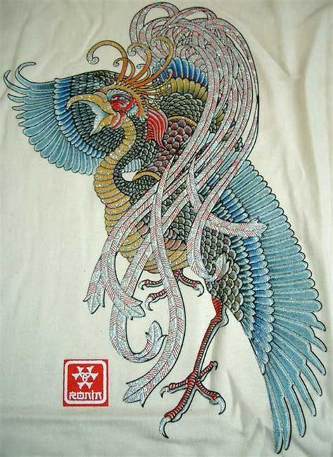 ideas  japanese phoenix tattoo  pinterest