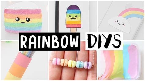 diys to do 6 amazing rainbow diys easy ideas my crafts and