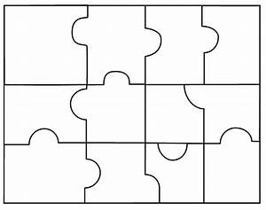 puzzle pieces template template business With jigsaw puzzle template for word