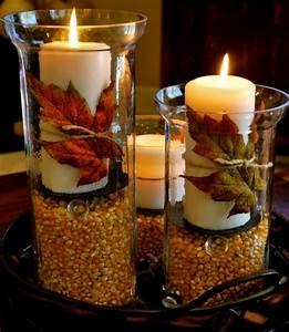 Einfache Herbstdeko Tisch : 15 ideen f r tolle tisch dekoration ~ Markanthonyermac.com Haus und Dekorationen