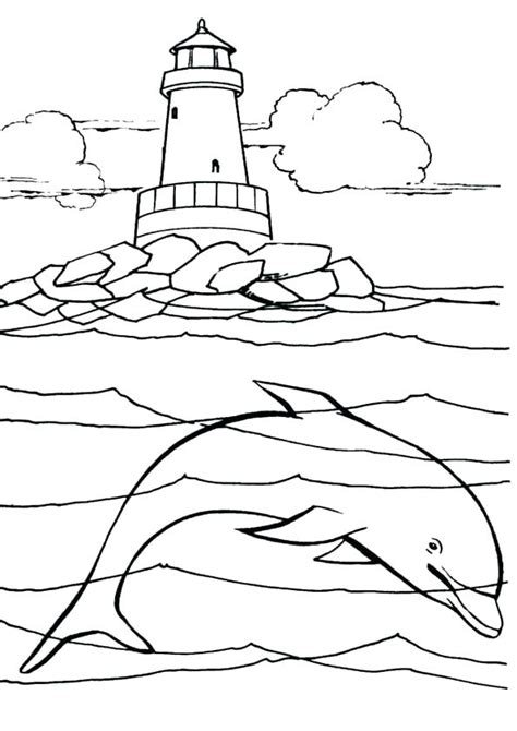 lighthouse coloring pages  getcoloringscom  printable colorings pages  print  color