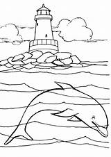 Lighthouse Coloring Pages Seahawks Seattle Drawing Nc Mariners Getcolorings Printable Print Getdrawings Sea sketch template