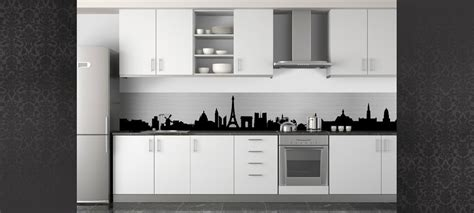 cuisine blanc et noyer deco cuisine noir et blanc