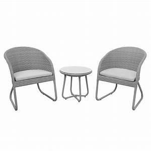 Balkon Tisch Stühle : anndora susila polyrattan balkonset grau 2 st hle kissen 1 tisch sitzgruppe ~ Sanjose-hotels-ca.com Haus und Dekorationen