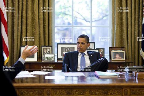 le de bureau blanche monde obama refait la déco du bureau ovale