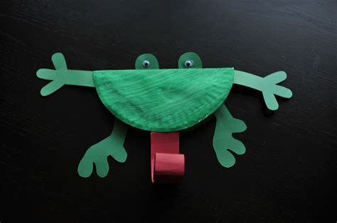 paper plate frog mommyapolis 804   bdp 94791