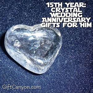 412 best images about anniversary gift ideas on pinterest for Crystal gifts for 15th wedding anniversary