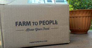July 2016 Farm to People Tasting Box Review   The Homespun