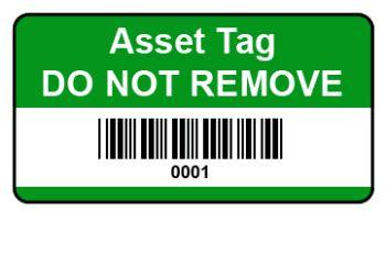 Mitel 5448 template printable / labels for mitel 5. Standard Asset Labels - 38x20 Barcoded Vinyl