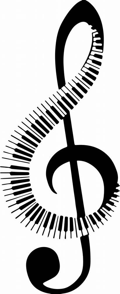 Musical Note Clipart Transparent Piano Background Keyboard