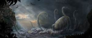 Giant octopus attack | Creepy, Awesome Water monsters ...