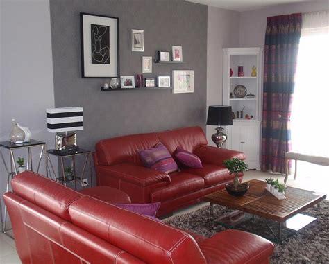 deco salon avec canape gris deco salon moderne gris et