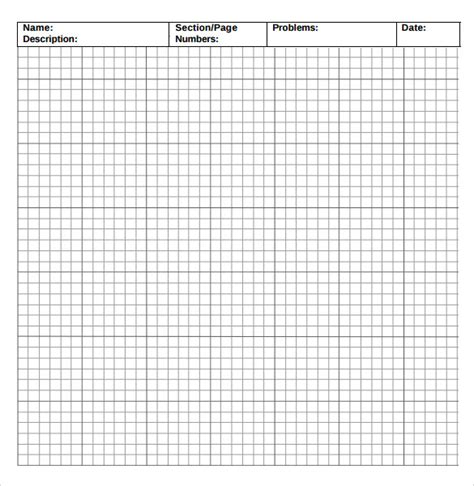 sample incompetech graph paper templates