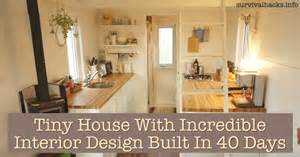 tiny homes interior designs tiny house with interior design built in 40 days grid