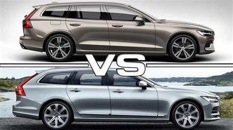 2019 Volvo V60 Vs 2018 Volvo V90 Youtube