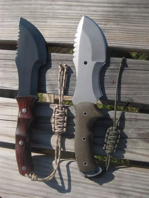 survival knife wilderness knives gear weapon bushcraft wsk tools cool sheath camping blade machete heavy weapons tracker diy duty bass