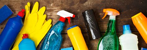 cleaning supplies checklist for your house or apartment