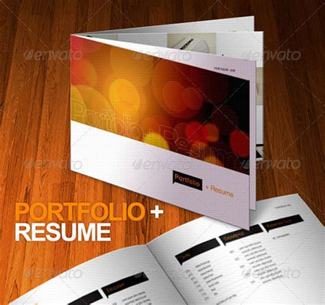 Professional Resume Brochure by 45 Business Brochure Design Templates