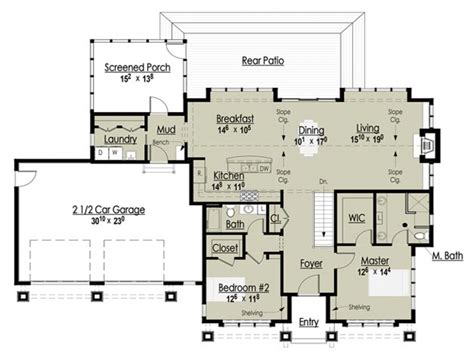 floor plans cottages award winning open floor plans award winning cottage floor