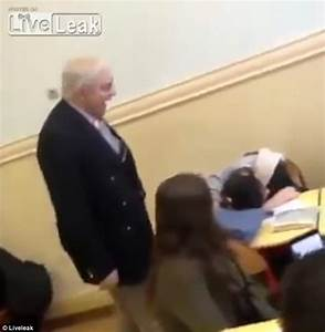 LiveLeak video shows a teacher biting a student's hair ...