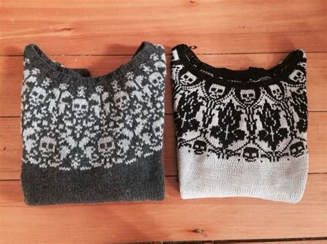 17 Best Images About Skull Patterns For Knitting On Pinterest