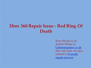 xbox 360 red ring of death fix - DriverLayer Search Engine