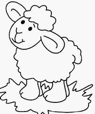 sheep coloring pages for preschool coloring page for 183   sheep coloring pages for preschool coloring page for kids