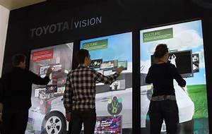 Toyota Vision Multi-Touch Wall - Interactive Design Archive