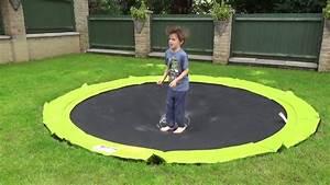 In Ground Trampolin : plum in ground sunken trampoline youtube ~ Orissabook.com Haus und Dekorationen