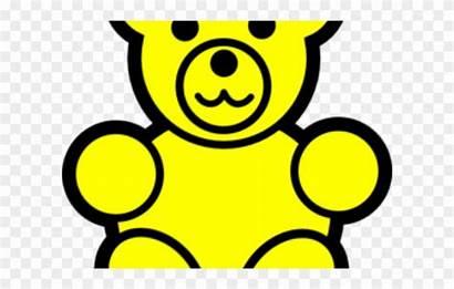 Yellow Clip Bear Gummy Clipart Clipground