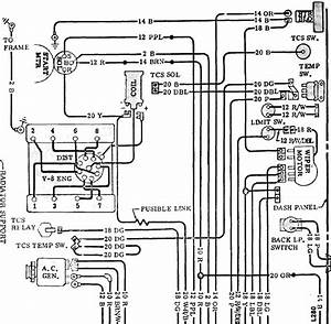 1973 Corvette Basic Ignition Wiring