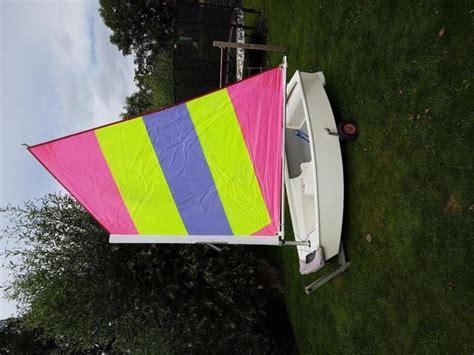 Optimist Zeilboot Tweedehands by Polyester Optimist Onzinkbaar Met Strandkar
