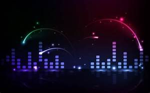 abstract music lights multicolor wallpaper High