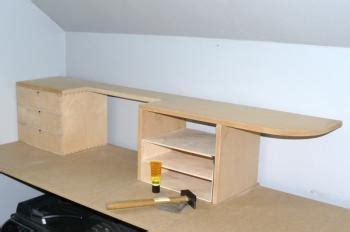 construire un bureau d angle fabriquer bureau d angle 100 images commode sur mesure